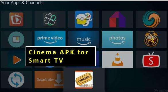 Cinema APK for Smart TV (Working For All TVs) - Setup Under