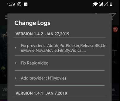 Cinema APK January Version
